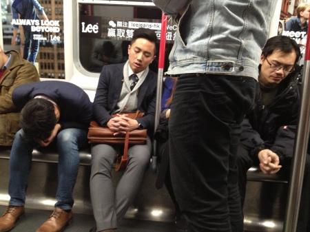 New Year's passengers