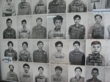 Khmer Rouge victims detained at Tuol Sleng prison